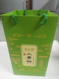 Recycled Custom Business Gift Bags, Paper Goodie Bags For Food Packing