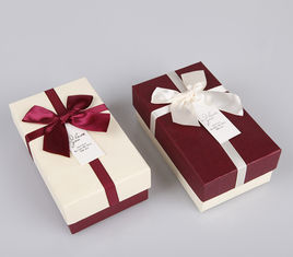 Lovely Shaped Christmas Present Box For Candy / Toys Gift Packaging